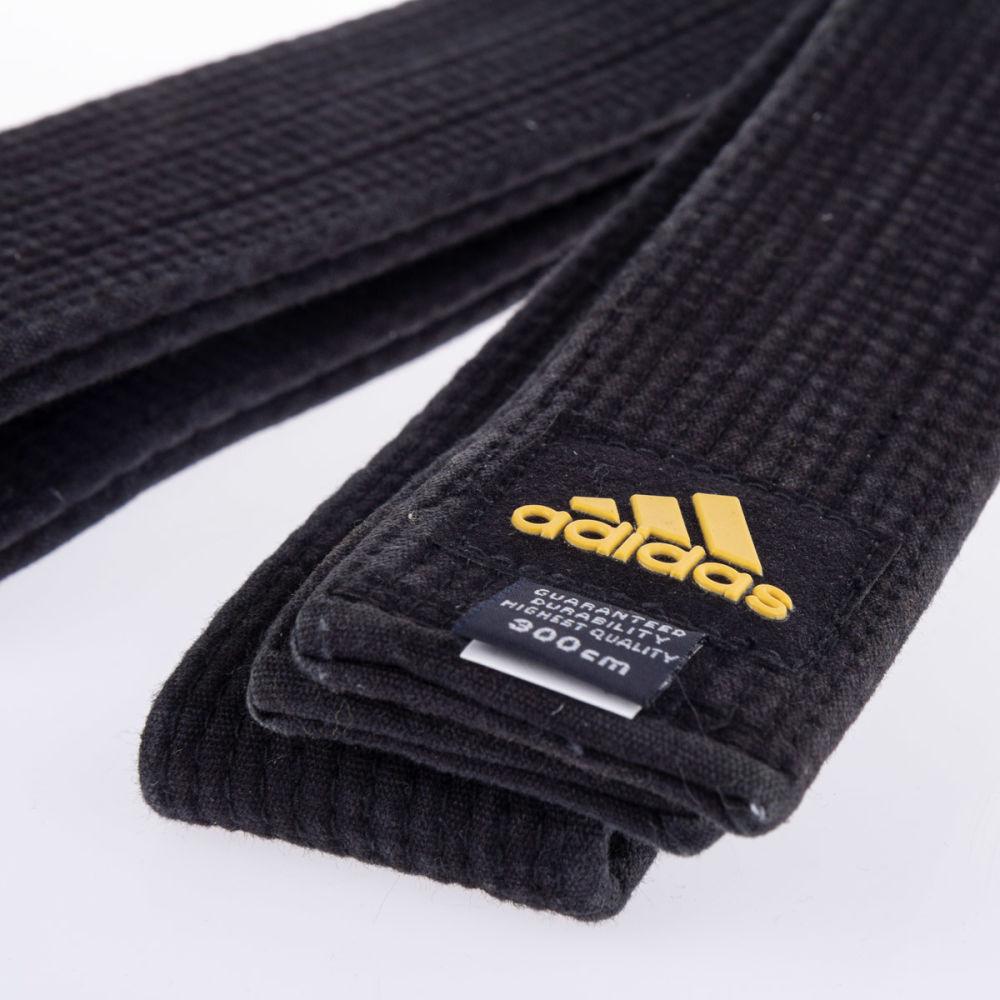adoptar explotar Guiño  Cinturón de Karate ADIDAS Master Deluxe – Negro – Jm Sport Perú
